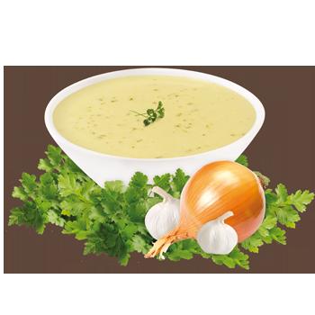 Préparation pour soupe à saveur de poulet
