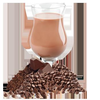 Substitut de repas au chocolat