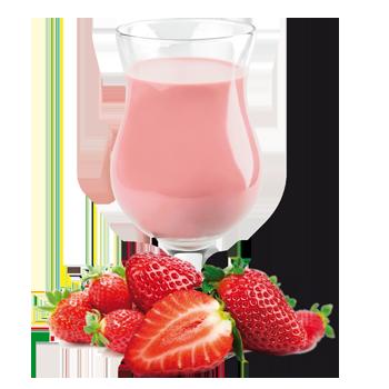 Substitut de repas aux fraises